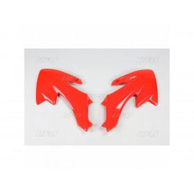 Ouïes de radiateur UFO rouge Honda CRF50F