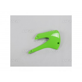 Ouïes de radiateur UFO vert Kawasaki KX80