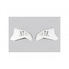 Ouïes de radiateur UFO blanc KTM SX65