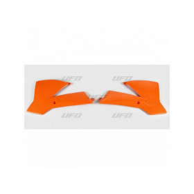 Ouïes de radiateur UFO orange KTM SX65