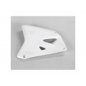Ouïes de radiateur UFO blanc Suzuki RM85