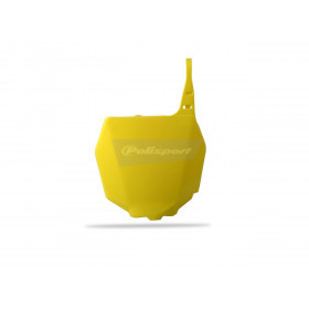 Plaque numéro frontale POLISPORT jaune Suzuki RM/RM-Z