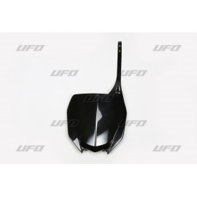 Plaque numéro frontale UFO noir Yamaha YZ450F