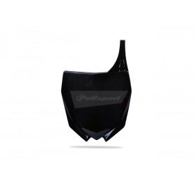 Plaque numéro frontale POLISPORT noir Yamaha