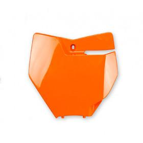 Plaque numéro frontale UFO orange fluo KTM SX/SX-F