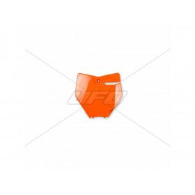 Plaque numéro frontale UFO orange KTM SX125/150 & SX-F